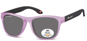 MP38C;; Rosa + schwarz  Polarized - Rubbertouch - Soft Pouch Included ;54;17;140