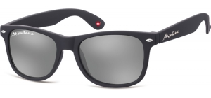 MS1-XL;; Schwarz + Revo silber   Revo Lenses - Rubbertouch - Soft Pouch Included ;54;19;150