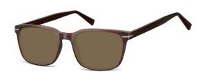 SB-CP119D;;Braun + Braune Gläser<br><br>Injected CP Sunglasses - Optical Quality - UV400 - CAT 3. - Soft Pouch Included;53;19;140