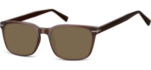 SB-CP119D;;Braun + Braune GläserInjected CP Sunglasses - Optical Quality - UV400 - CAT 3. - Soft Pouch Included;53;19;140