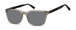 SS-CP119A;;Transparent grau + havanna + Rauchiges Glas<br><br>Injected CP Sunglasses - Optical Quality - UV400 - CAT 3. - Soft Pouch Included;53;19;140